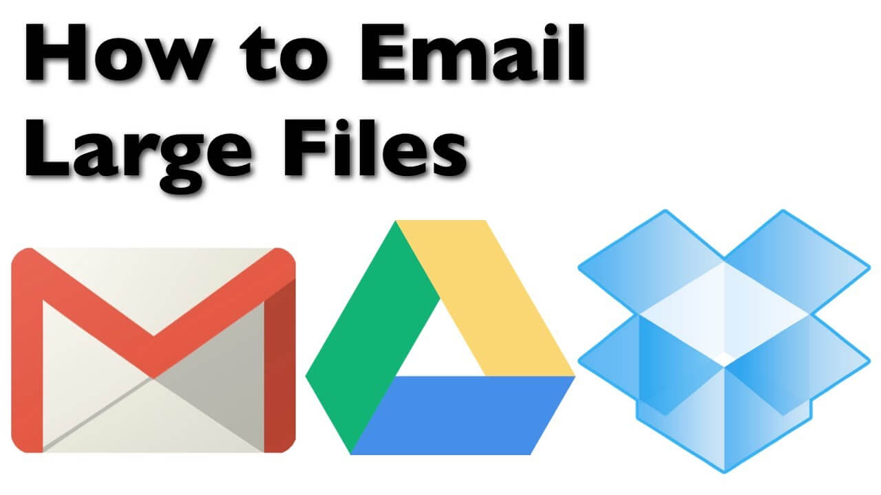How to Send Large Files Through Your Email Address